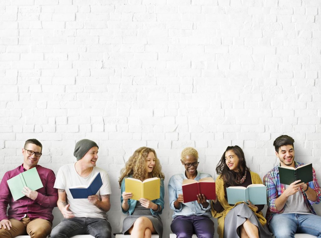 Virtual workshop for adults to promote reading