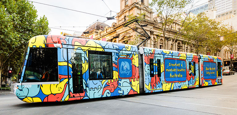 $1 million of free tram advertising up for grabs | PBA