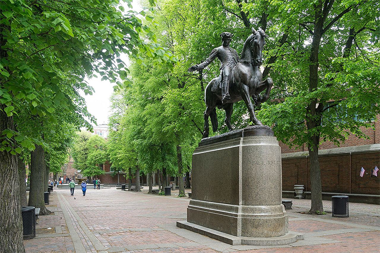 A look at the midnight ride of Paul Revere on April 18-19