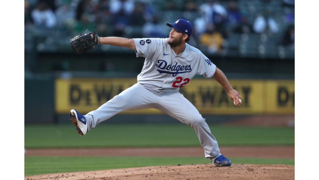 Clayton Kershaw's slider regains its bite, Dodgers extend win streak to 5