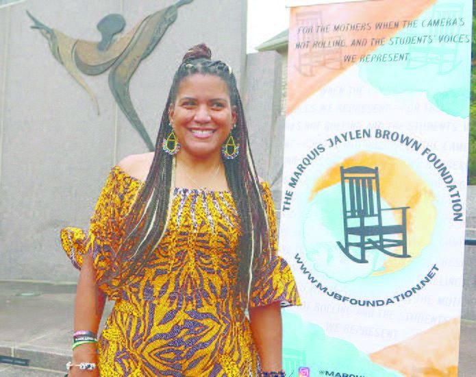 Dannielle Brown ends hunger strike, starts foundation in honor of her son | Afro