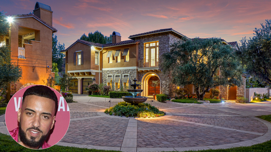French Montana seeks $5 million for his Calabasas mansion