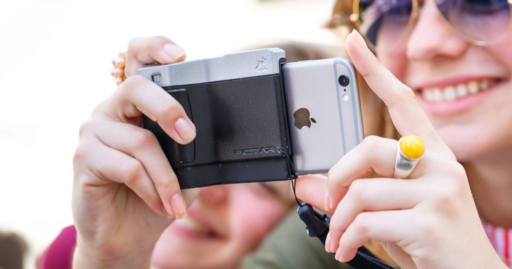 Get more out of your phone camera with a smart grip on sale
