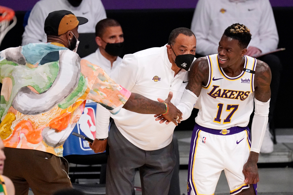 Lakers outlast Jazz in OT on Dennis Schröder's late-game heroics