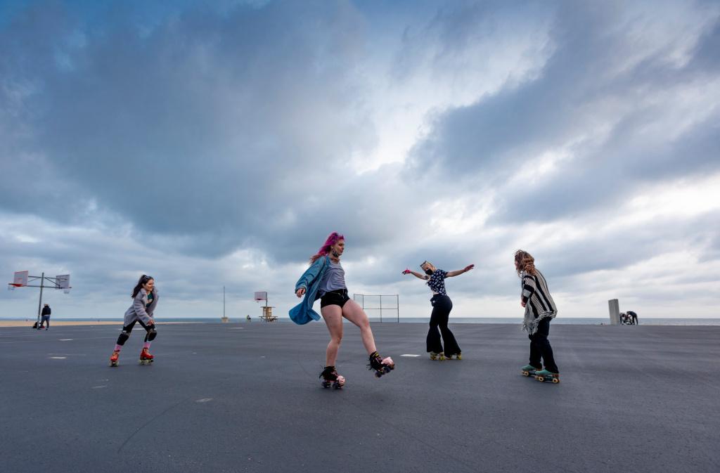 Roller skate resurgence: How the bygone craze is making a big comeback outdoors