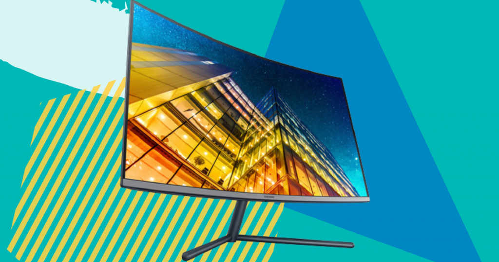 Save on a refurbished Samsung curved monitor