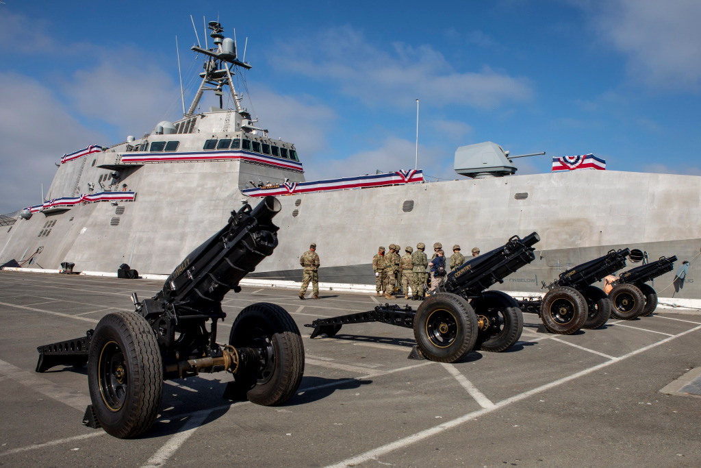 The first USS Oakland in 70 years commissioned at its namesake port