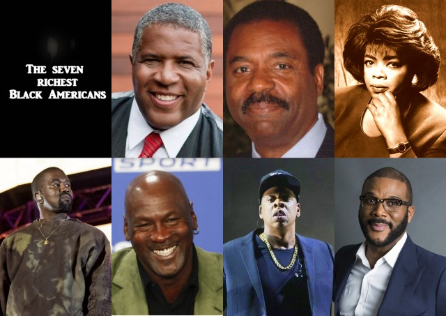 The seven richest Black Americans | Afro