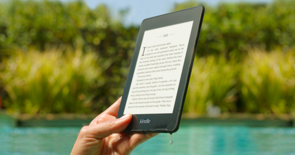 This promo code gets you 15% off a Kindle Paperwhite and a free $15 e-book credit