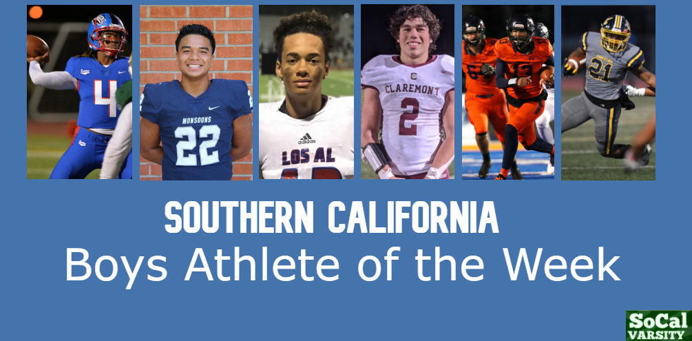 VOTE: Southern California Boys Athlete of the Week, April 9