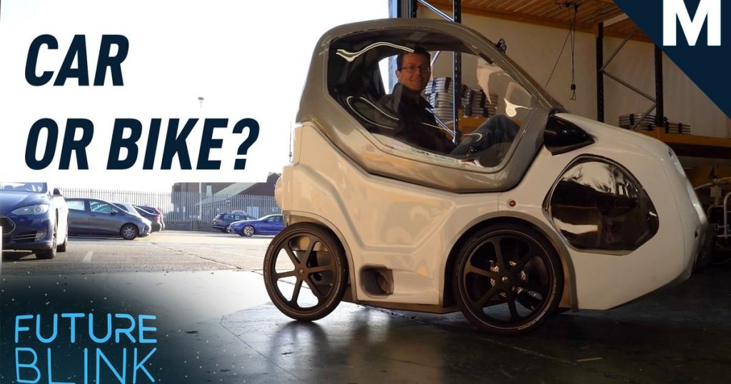 DryCycle looks like a mini electric car…but it's made for bike paths — Future Blink