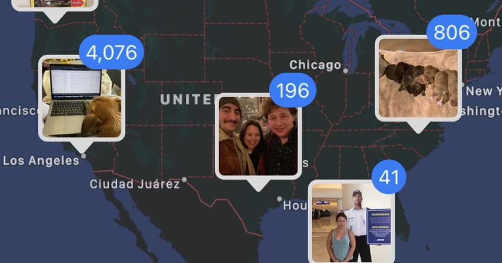How to see a map of all the photos you take on your iPhone