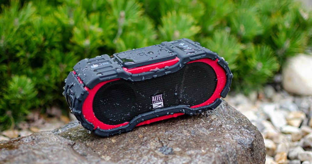 Save on a refurbished Bluetooth speaker ideal for poolside hangs