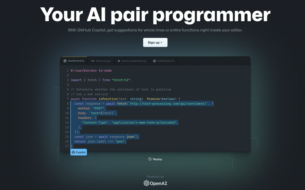GitHub releases an AI-powered copilot to help improve code