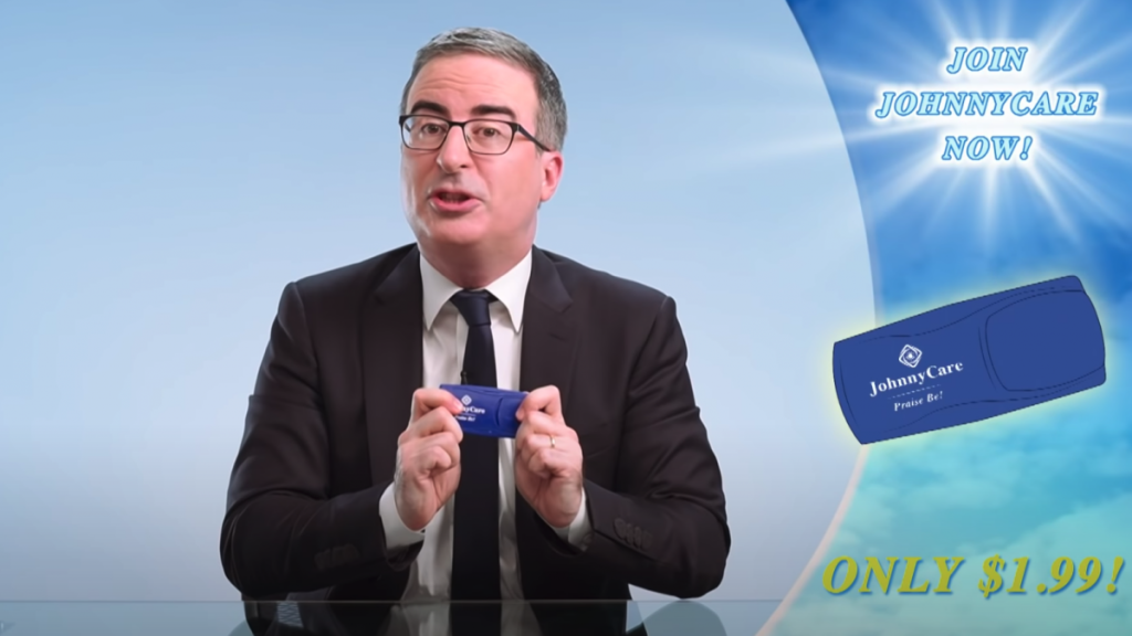 John Oliver's fake church is now a 'healthcare sharing ministry' in Florida. Let him explain why.