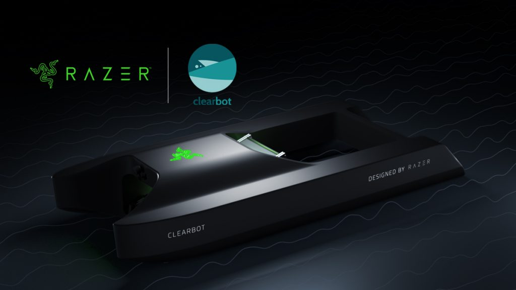 Razer and ClearBot are using AI and robotics to clean the oceans