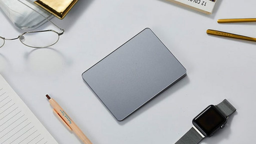Declutter your desk with a thin wireless charging pad