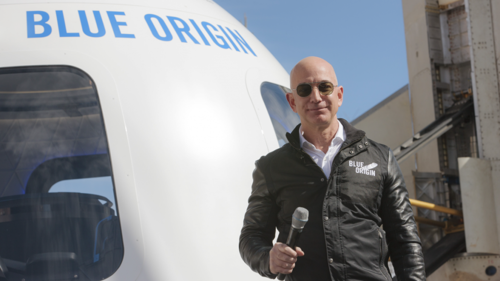 Jeff Bezos' Blue Origin gets FAA approval to take people to space
