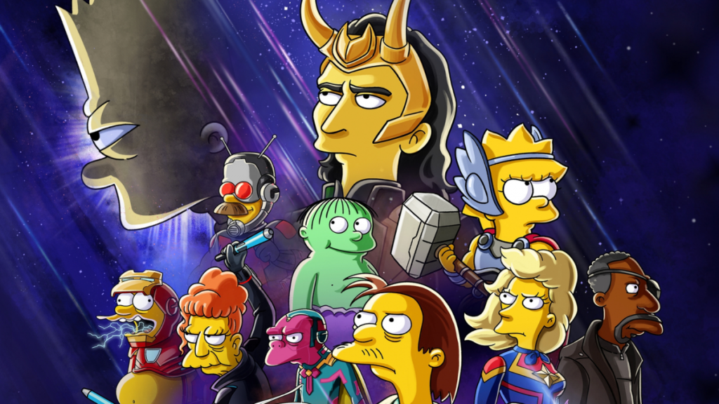 Loki and Bart Simpson will join forces in a new Disney+ short