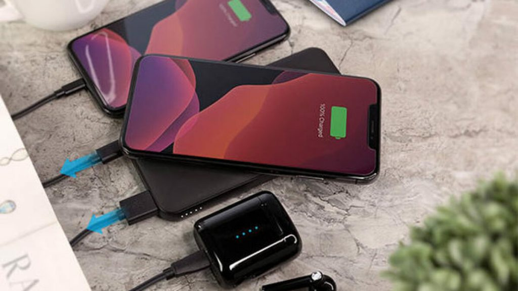 Save 38% on a charging dock and power bank combo