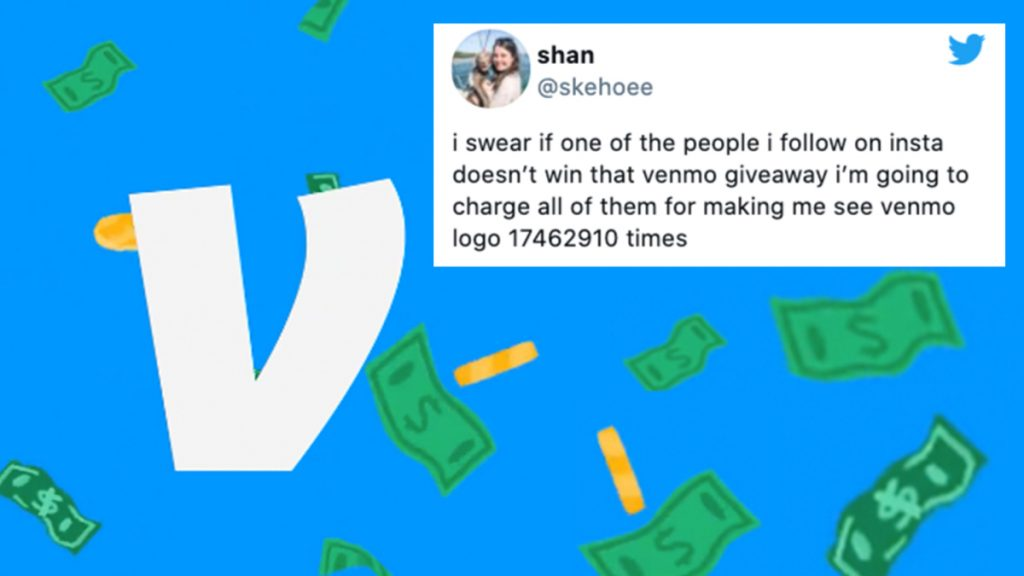 Venmo's $100,000 giveaway is deeply annoying