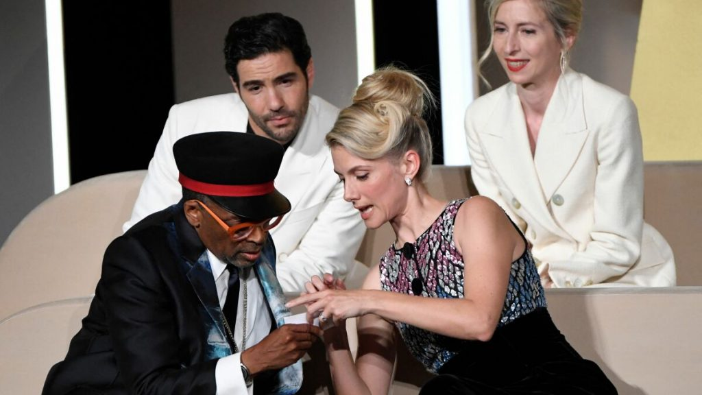 Witness Spike Lee's Cannes gaffe as he reveals the top winner early