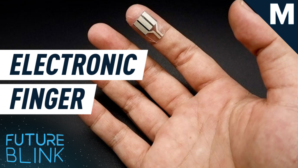 You can now power electronics…with your finger