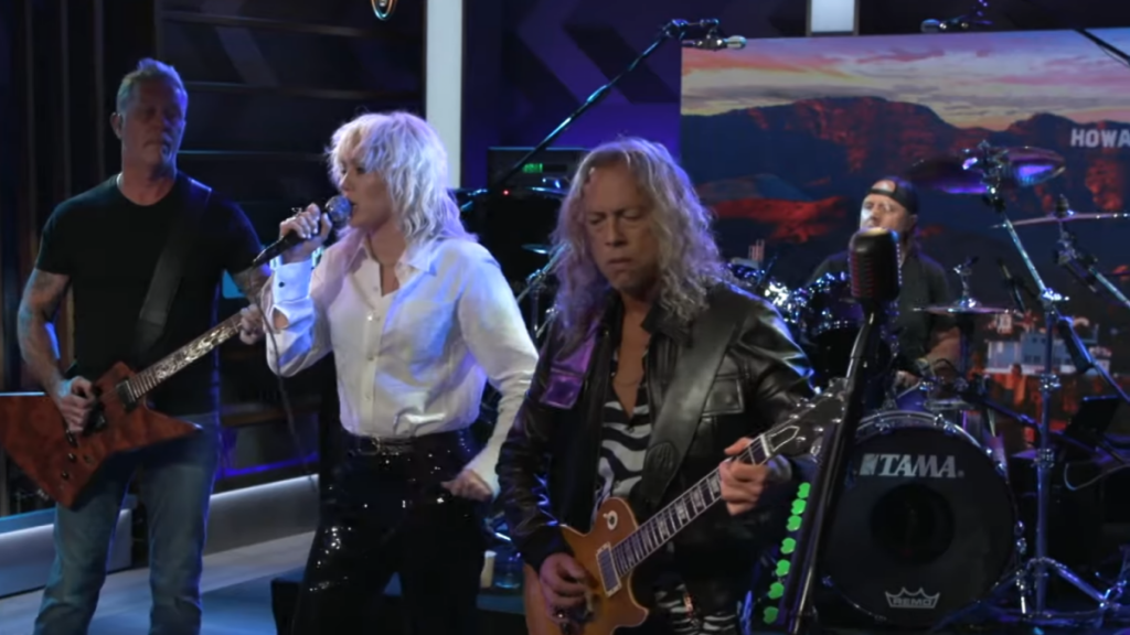 Miley Cyrus singing 'Nothing Else Matters' with Metallica is chills