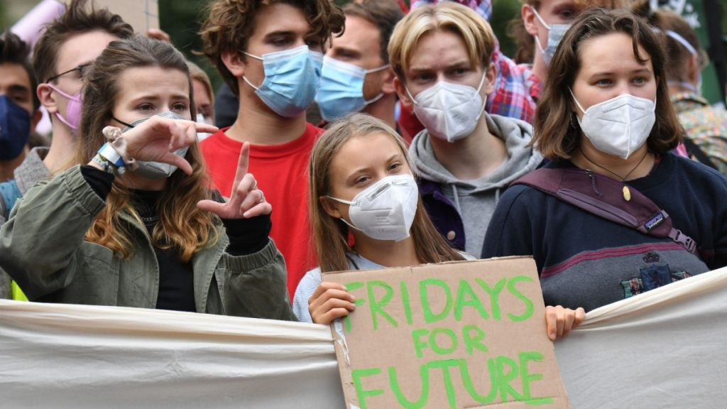Young activists lead Fridays for Future's global climate strike