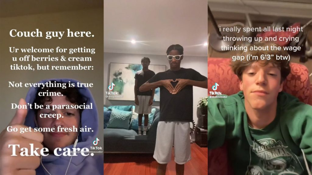"""Couch guy, being 6'3"""", TWINNEM, and other things that went viral on TikTok this week"""