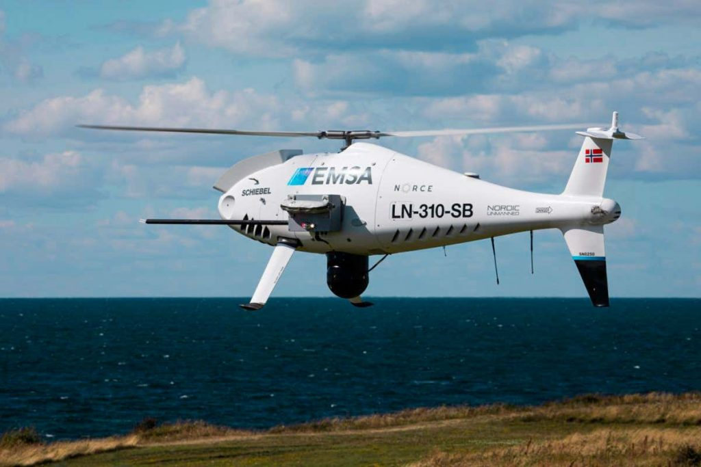Drones are 'sniffing' ship exhaust for illegal fuel in European waters