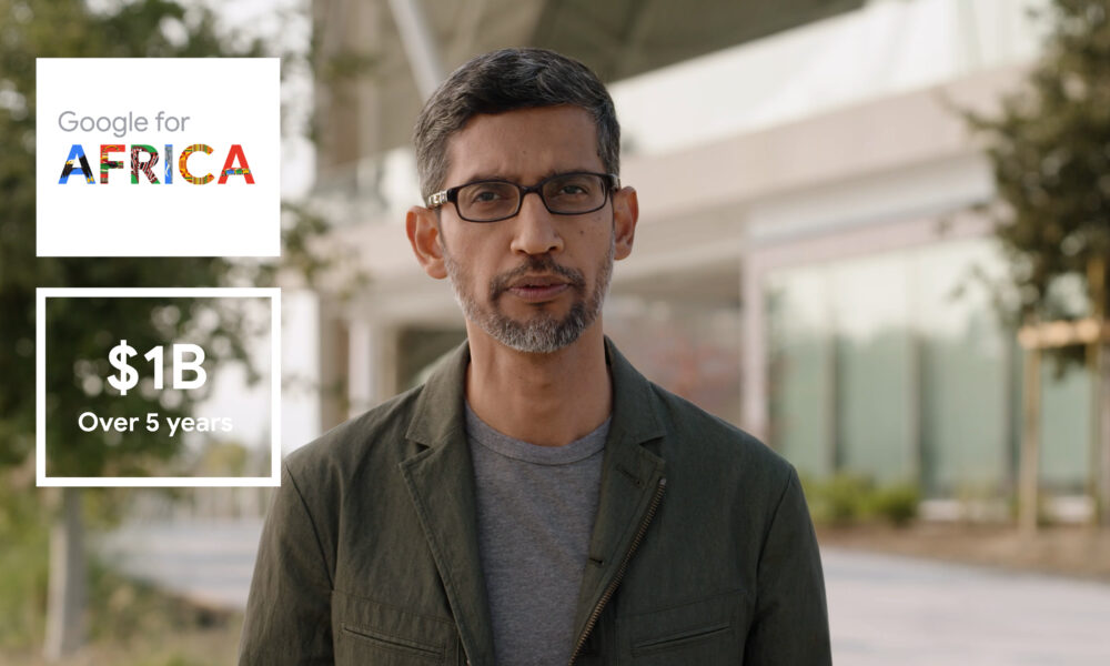 Google to invest $1billion in Africa over next 5 years . See details