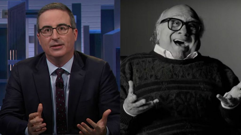 John Oliver enlists Danny Devito's help to go after chemical company