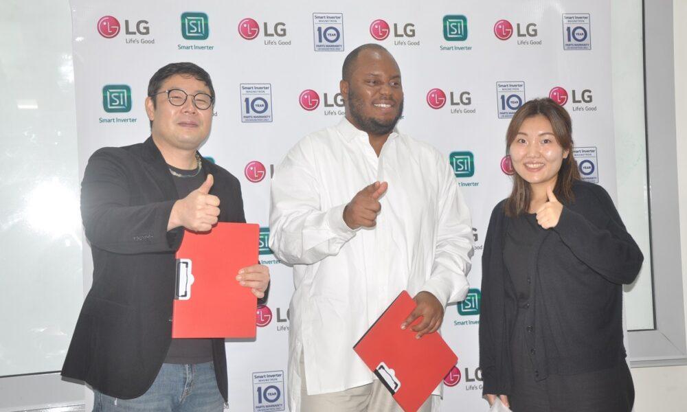 LG unveils Nigerian Chef Fregene Gbugbemi to unleash his skills with its Kitchen appliances