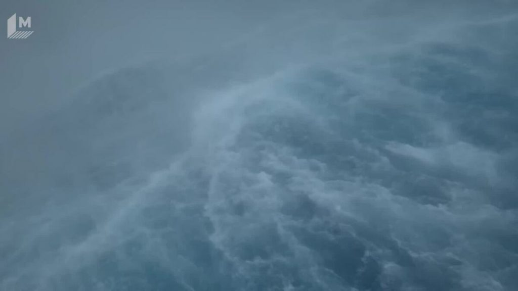 Marvel at this video of a huge hurricane thrashing around a drone in the ocean