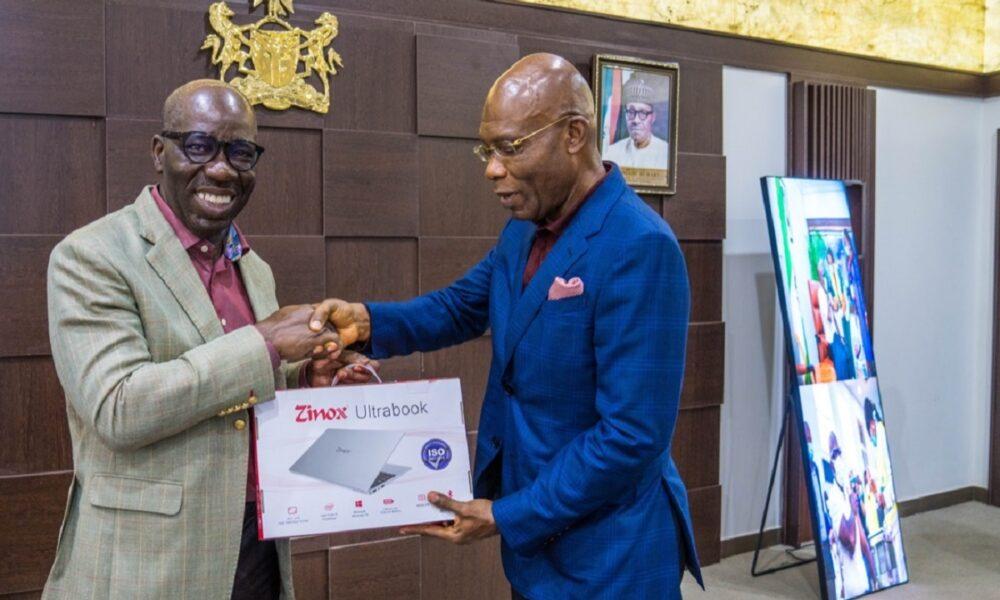 Obaseki hails Zinox as Edo signs partnership with Nigeria's tech giant
