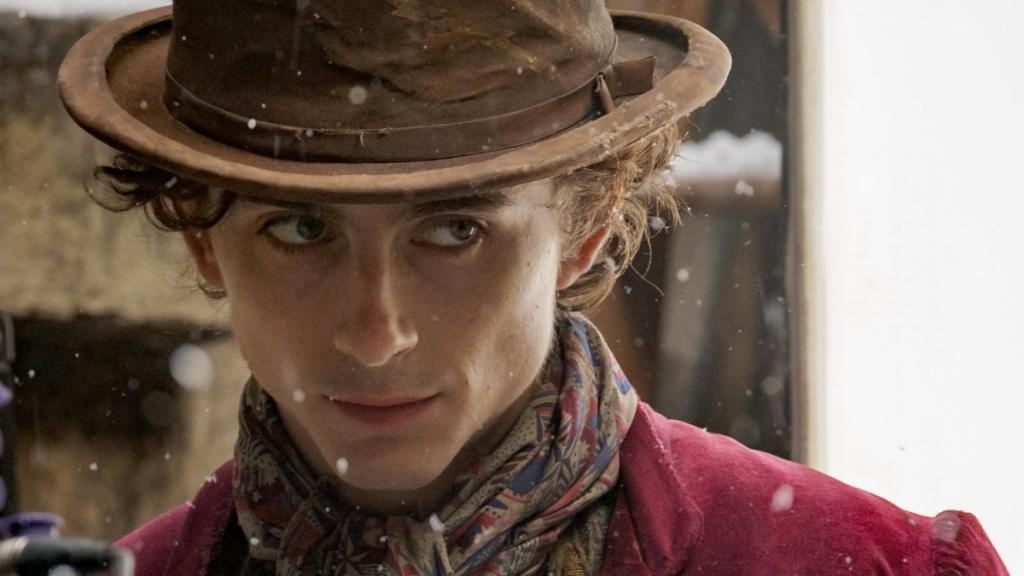 Timothée Chalamet blesses the internet with a peek at his 'Wonka' look