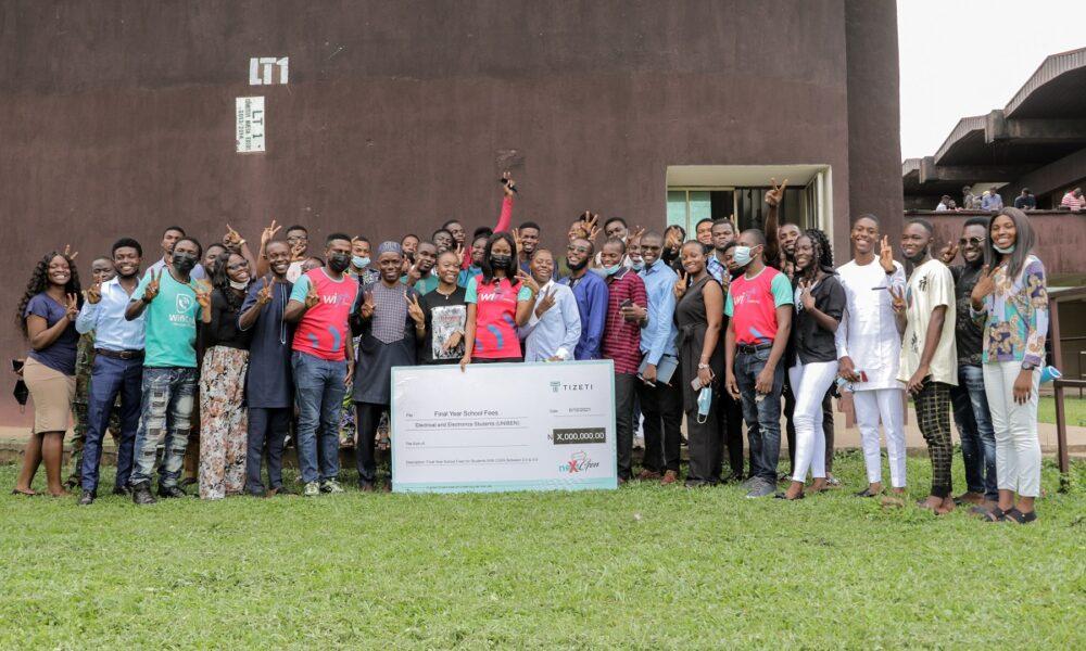 Tizeti CEO Kendall Ananyi awards scholarships to UNIBEN Electrical Engineering graduating class